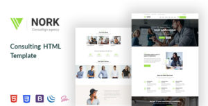 Nork - Business, Consulting HTML5 Template