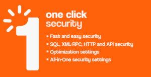 One Click - Wordpress Security