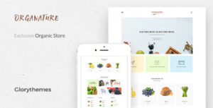 Organature | A Vibrant HTML Template for Organic Food, Store & Eco Products