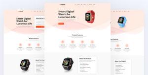 Premat - Product Landing Page
