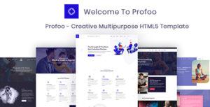 Profoo - Multipurpose Portfolio HTML Template