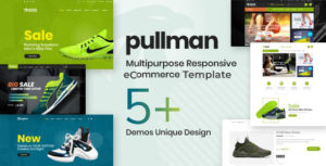 Pullman - Shoes Store HTML Template
