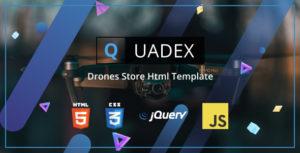 Quadex - Drones Store Html Template