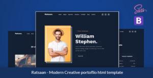 Ratsaan - Creative portfolio template