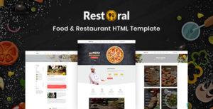 Restoral - Food & Restaurant HTML Responsive Bootstrap 4 Template
