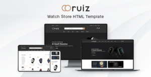 Ruiz - Watch Store HTML Template