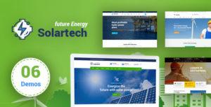 Solar Tech - Renewable Energy HTML Template