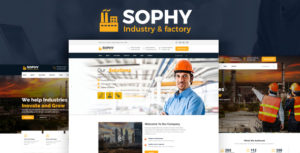 Sophy – Industrial And Engineering HTML Template