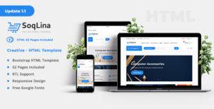 SoqLina - Ecommerce HTML Template