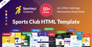 Sporteyz   Sports Club HTML Template