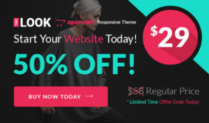 The Look - Responsive Multipurpose Opencart 3 Theme | fashion Store | cloth Store