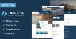 Transpix - Transport, Logistics & Warehouse HTML Template