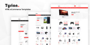 Tyrion - HTML eCommerce Templates