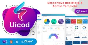 Uicod - Responsive Bootstrap 4 Admin Dashboard & WebApp Templates