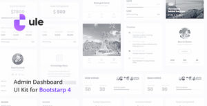 Ule – Dashboard Template for Bootstrap