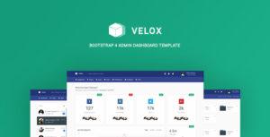 Velox - Bootstrap 4 Admin Dashboard Template