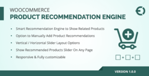 Woocommerce Related Products Plugin, Upsell / Cross Sell Recommendation