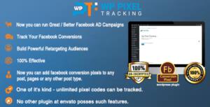 Wordpress Retargeting Facebook Pixel Tracking Plugin