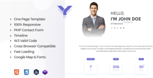 Yotta - Personal Portfolio Template