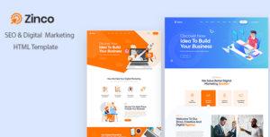 Zinco - SEO & Digital Marketing Agency HTML5 Template