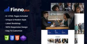 finnoplus - MultiPurpose Bootstrap 4 Template