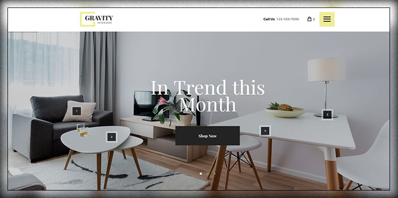 Gravité | Design d'intérieur et magasin de meubles