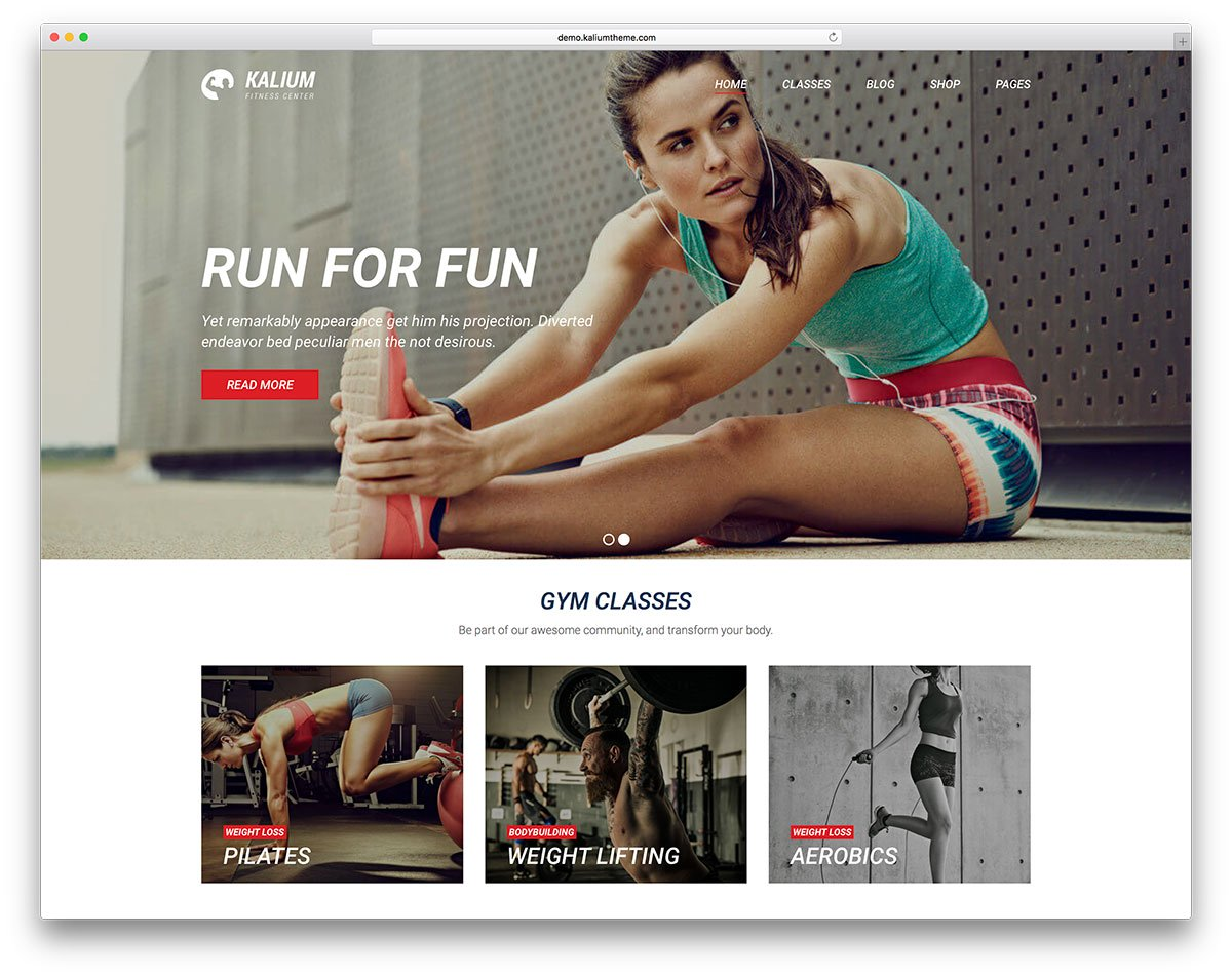 kalium-fitness-wordpress-website-theme