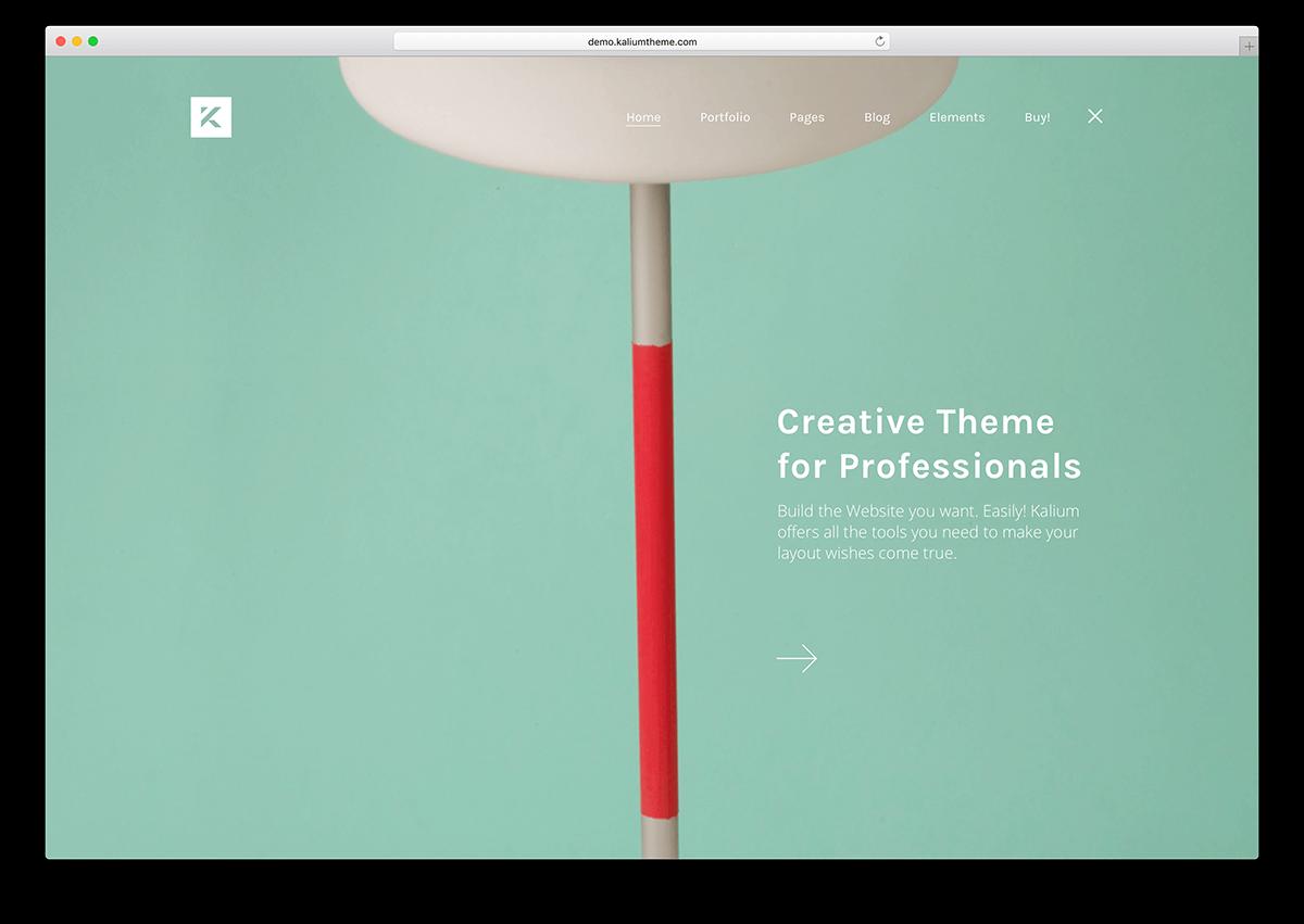 kalium-flat-design-wordpress-theme