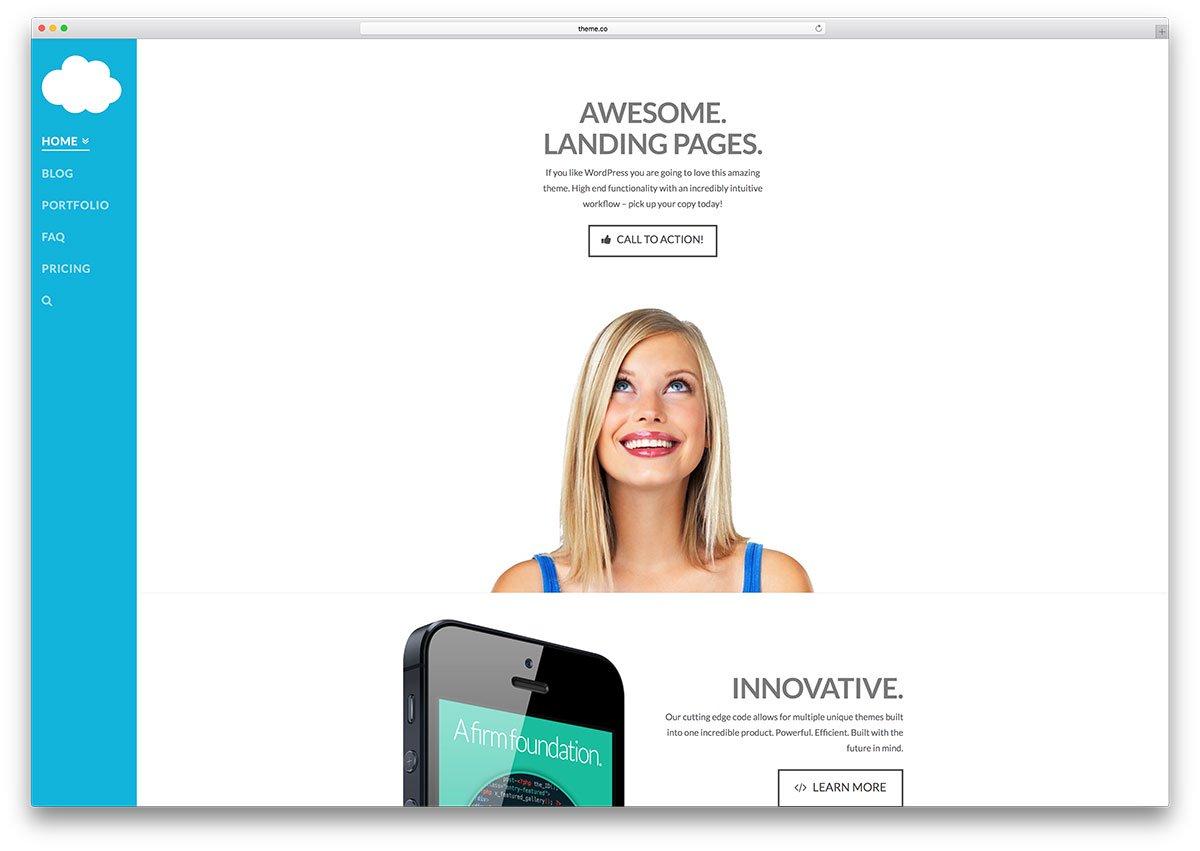 x-theme-creative-landing-page-polyvalent-theme