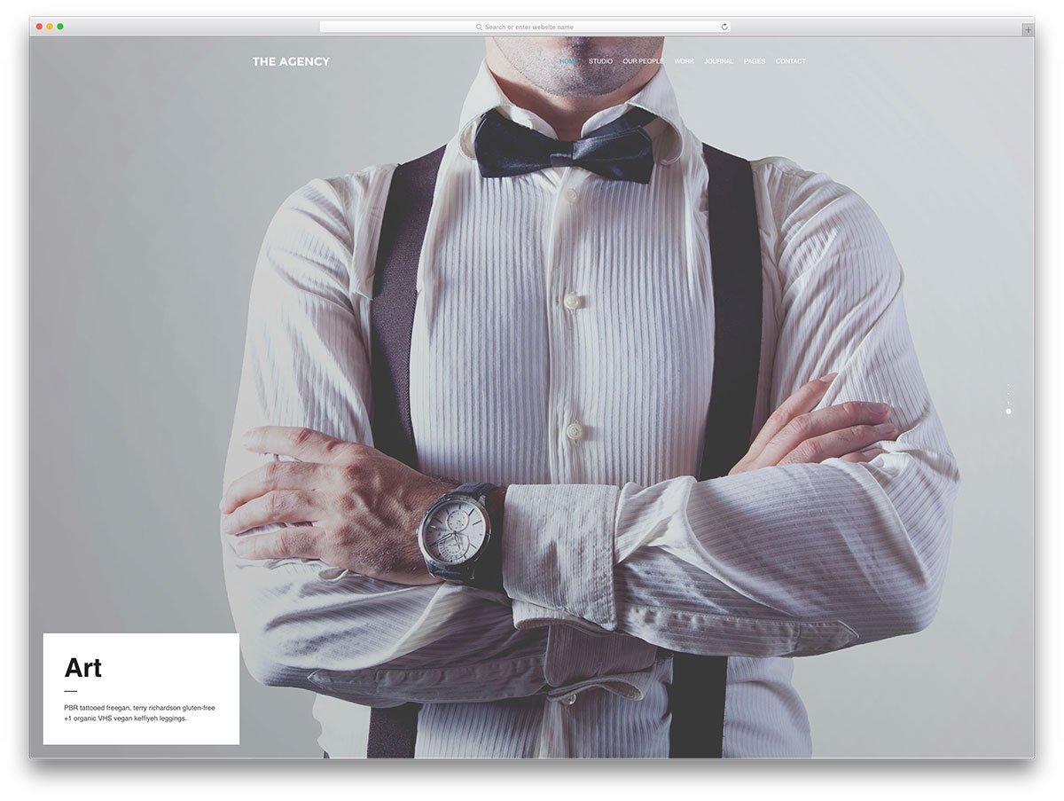 theagency-minimal-agency-wordpress-theme