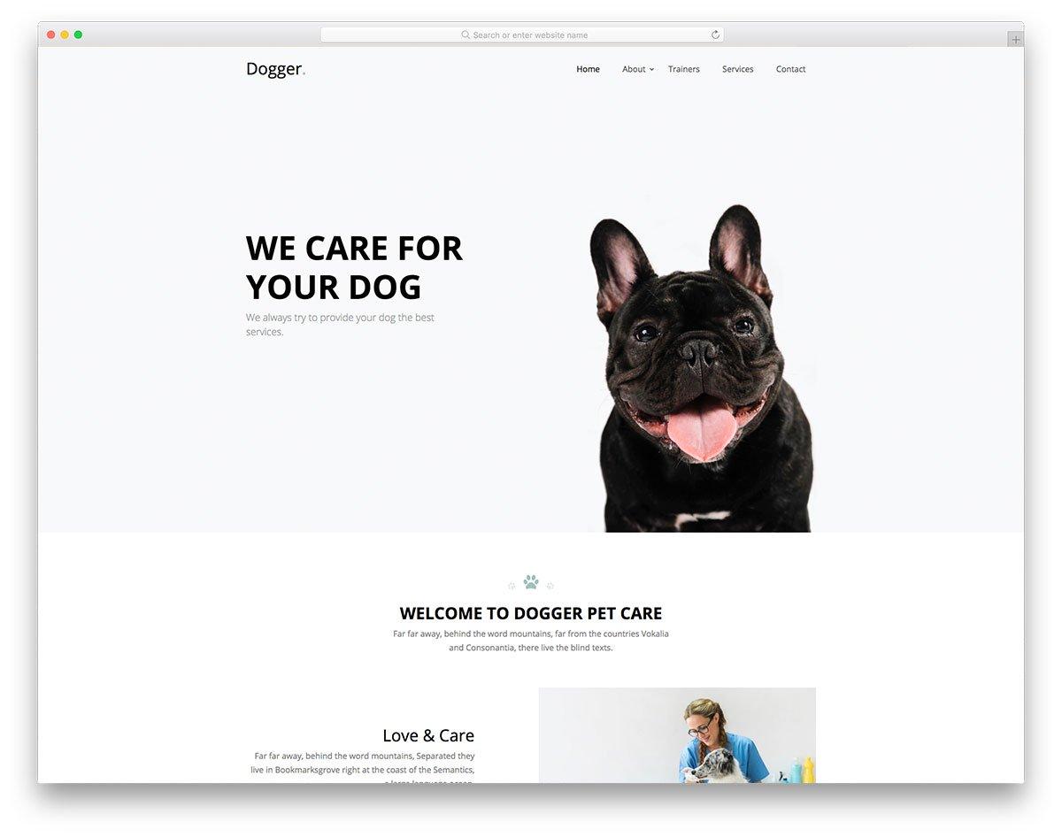 Modèle gratuit de Dogger
