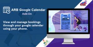 ARB Google Calendar (Add-On)