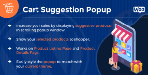 Add To Cart Suggestion Popup - WooCommerce