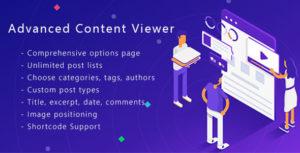 Advanced Content Viewer Plugin