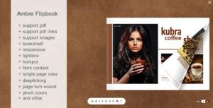 Ambre Flipbook -jQuery
