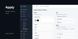 Apply - WordPress Admin Theme