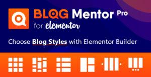 Blogmentor Pro for Elementor