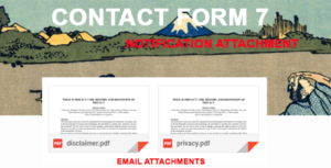 Contact Form 7 Notification Attachment
