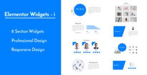 Elementor Widgets - i - Professional and Unique Section Design Widgets