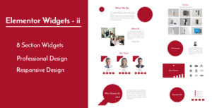 Elementor Widgets - ii - Professional and Unique Section Design Widgets