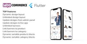 Flutter app for woocommerce