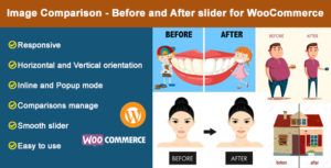 Image Comparison - Before and After slider for WooCommerce