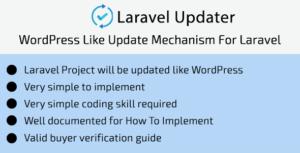 Laravel Updater - WordPress Like Update Mechanism For Laravel
