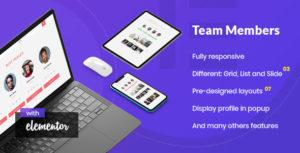 Noo Team Member - Addon for Elementor Page Builder