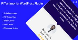 PI Testimonial - WordPress Testimonial Showcase Plugin