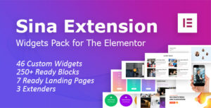 SEFE - Sina Extension for Elementor