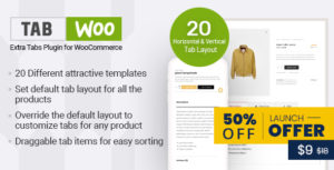 TabWoo - Extra Tabs Plugin for WooCommerce
