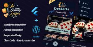 The Homely Recipes - Flutter App For Wordpress