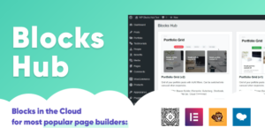 WP Blocks Hub Premium - Blocks for Gutenberg, Elementor, WPBakery Page Builder, Beaver in the cloud