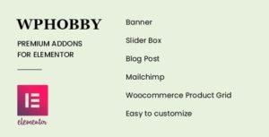 WPHobby Addons for Elementor